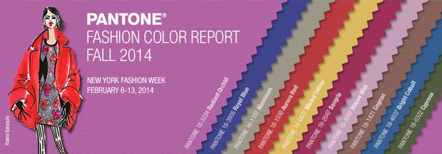 01 Pantone FALL 2014 15 Los 10 colores Pantone otoño invierno 2014 15