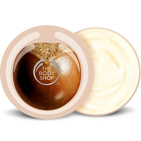 The Body Shop Shea Body Butter leaves even the driest of skin soft, smooth, and moisturized for the entire day.