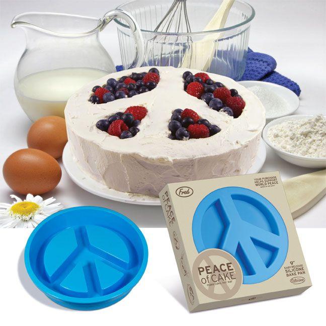 Wilton Peace Sign Cake Pan