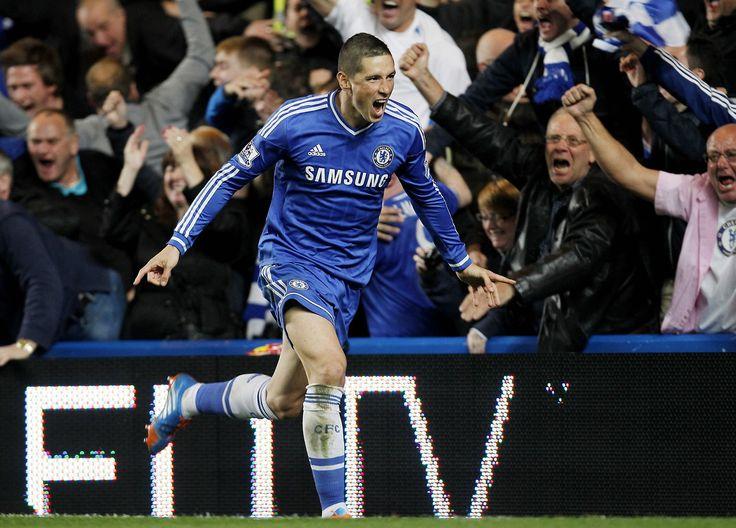 Fernando Torres Chelsea 2 1 Manchester City Premier League Sunday October
