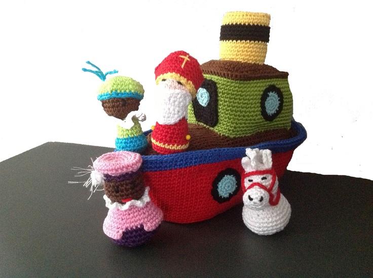 Sinterklaas (link to link party).
