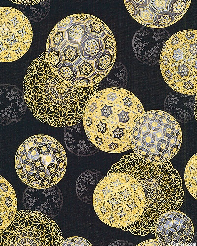 Temari, is a Japanese thread ball, which is a symbol of perfection. There is a long history about the weaving of thread to create this artwork (image: equliter)