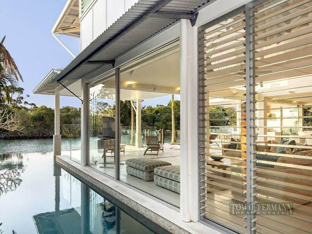 Waterfront Modern Villa For Perfect Summer, Noosa Heads, Australia