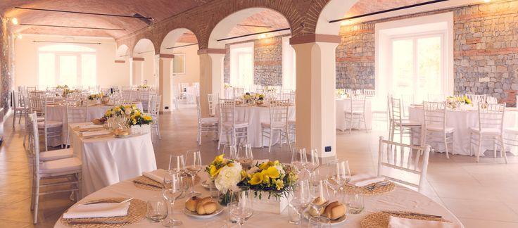 Corte Dei Paduli: Salone Matrimoni. 300 posti a sedere in tavoli rotondi.