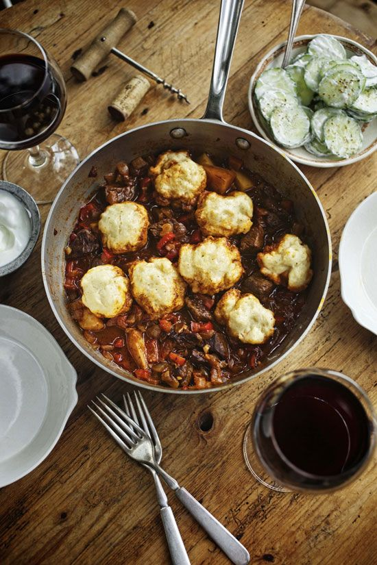 """Goulash with dumplings can warm any stomach on a cold evening. From our collection """"Easy Meals: One-Pot Recipes for Every Season."""""""