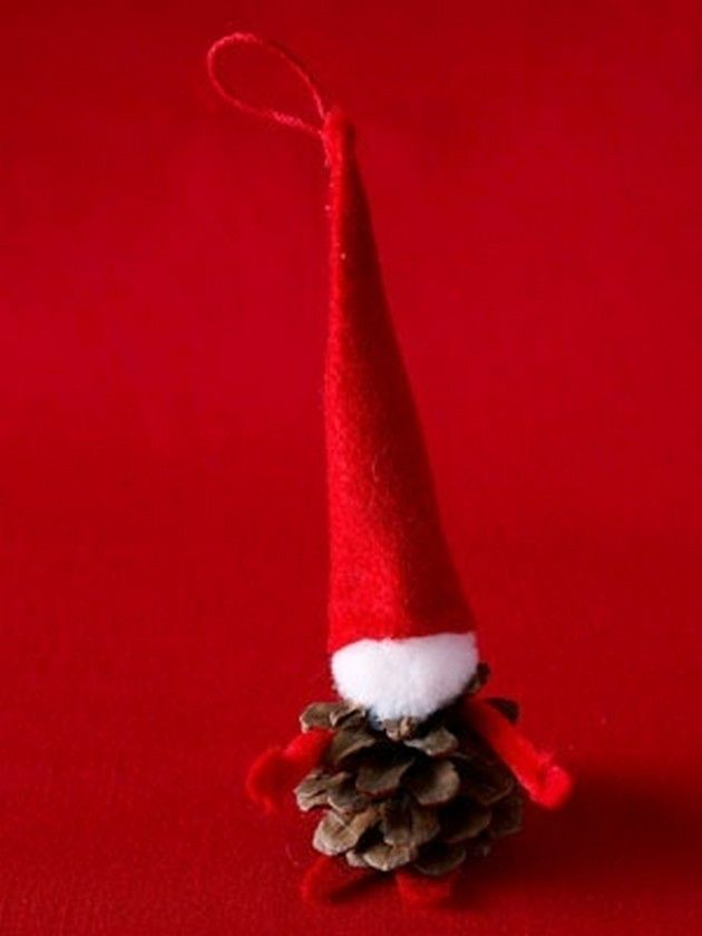 Pine-cone Craft Ideas (17 Pics) Tree Ornament