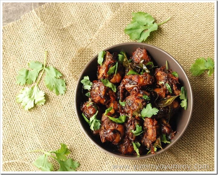 Indian Chicken Chilly Roast