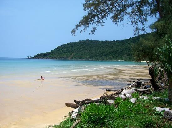 Cambodia: The beach