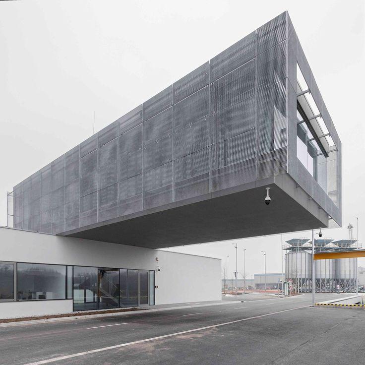 Gallery of Győr-Gönyű National Public Port Control Building / sporaarchitects + Térhálózat - 2