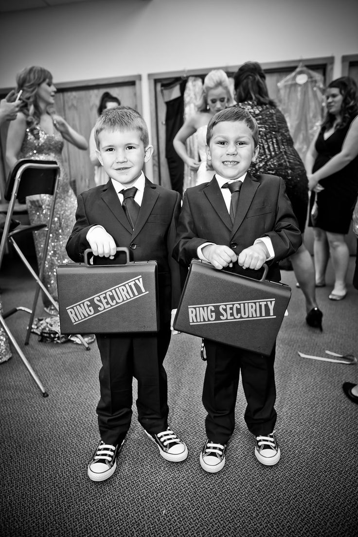 Ring bearer ideas. Chuck Taylors and Ring Security boxes plus handcuffs.