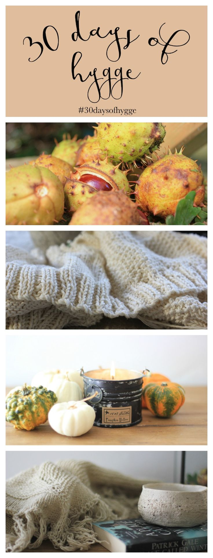 ideas for a 30 day hygge challenge this autumn