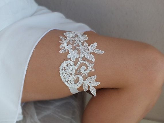 Hey, I found this really awesome Etsy listing at https://www.etsy.com/uk/listing/244145765/unique-ivory-wedding-garter-lace-garter