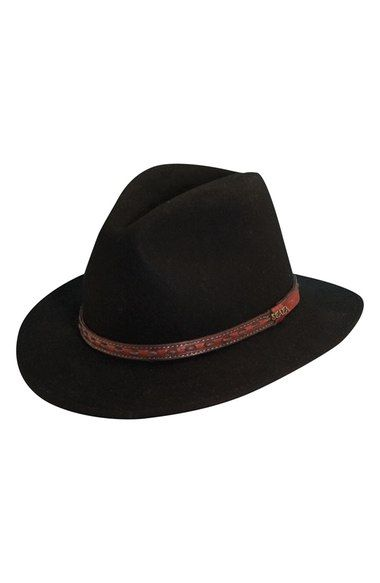 Scala 'Classico' Crushable Felt Safari Hat available at #Nordstrom