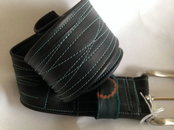 Inner tube belt skinny or wide   recycled  bike by VeloCulture, £20.00