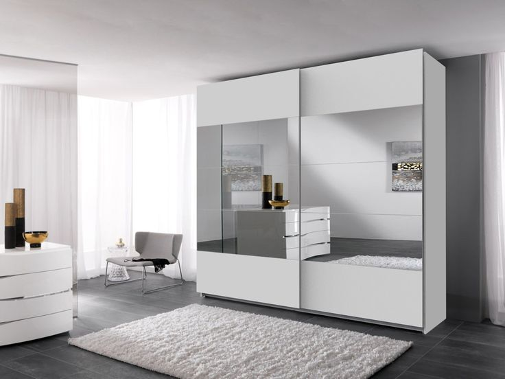 STORE 215 biała szafa do każdego wnętrza z lustrami w super cenie 1139 zł
