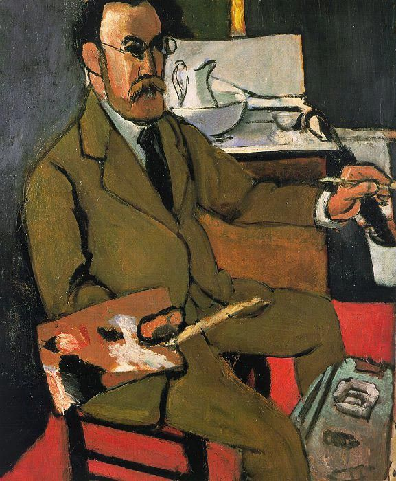 Henri Matisse. Self-Portrait. Collection Musée Matisse, Le Cateau-Cambrésis1918