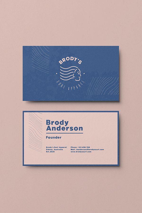 Creative Business Card Design Inspiration Minimalist Corporate Bra Graphic Design Business Card Business Card Design Creative Professional Business Card Design
