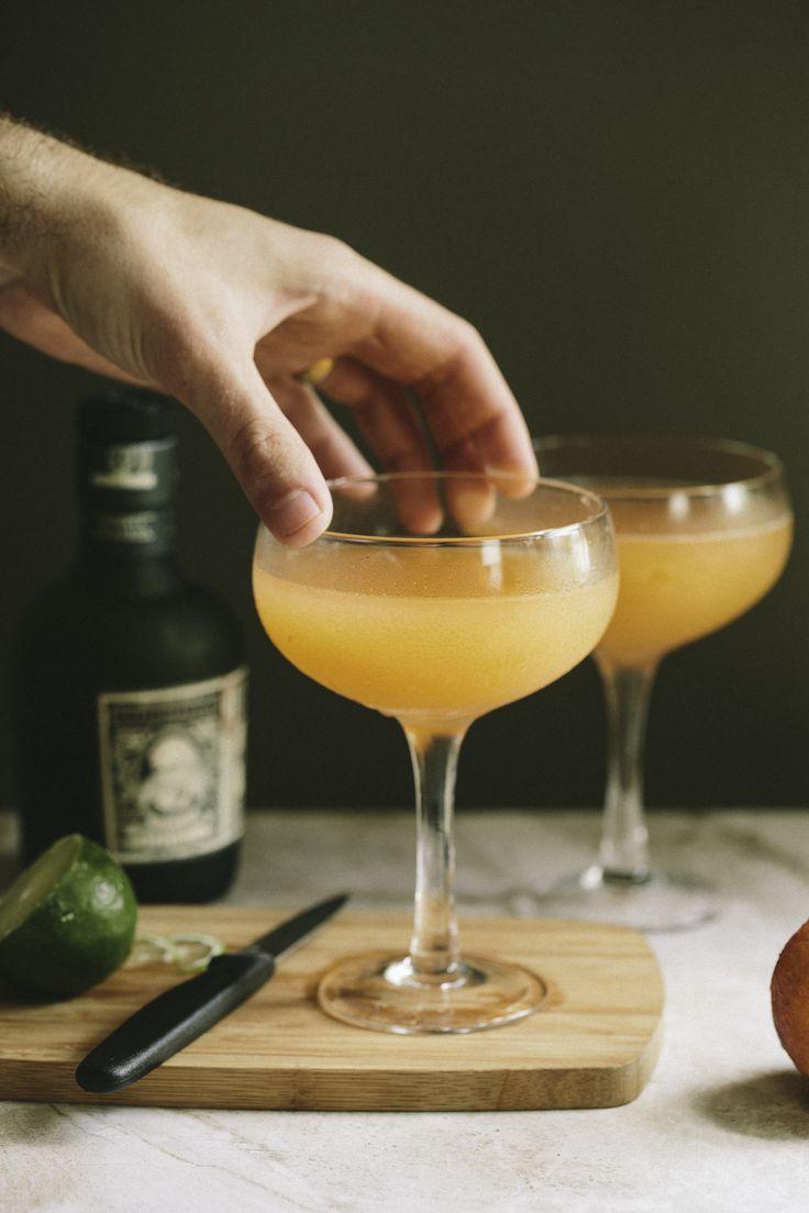 Fresh Peach Daiquiri — A Thought For Food