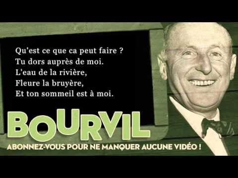 Bourvil - Ballade irlandaise - Paroles