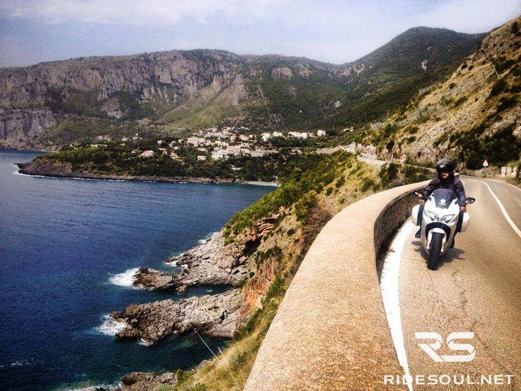 Riding along the Maratea Coast! #motorcycle #tour #italy