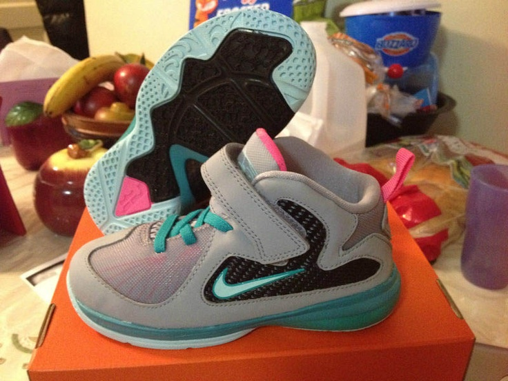 "... Kids  available dc6a0 954f1 Jumpman Monday Nike LeBron 9 ""South Beach""  – Toddler ... 3ec4378b72"
