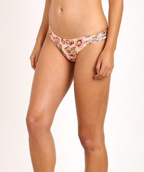 Tori Praver Napili Bikini Bottom Cactus Flower Naked