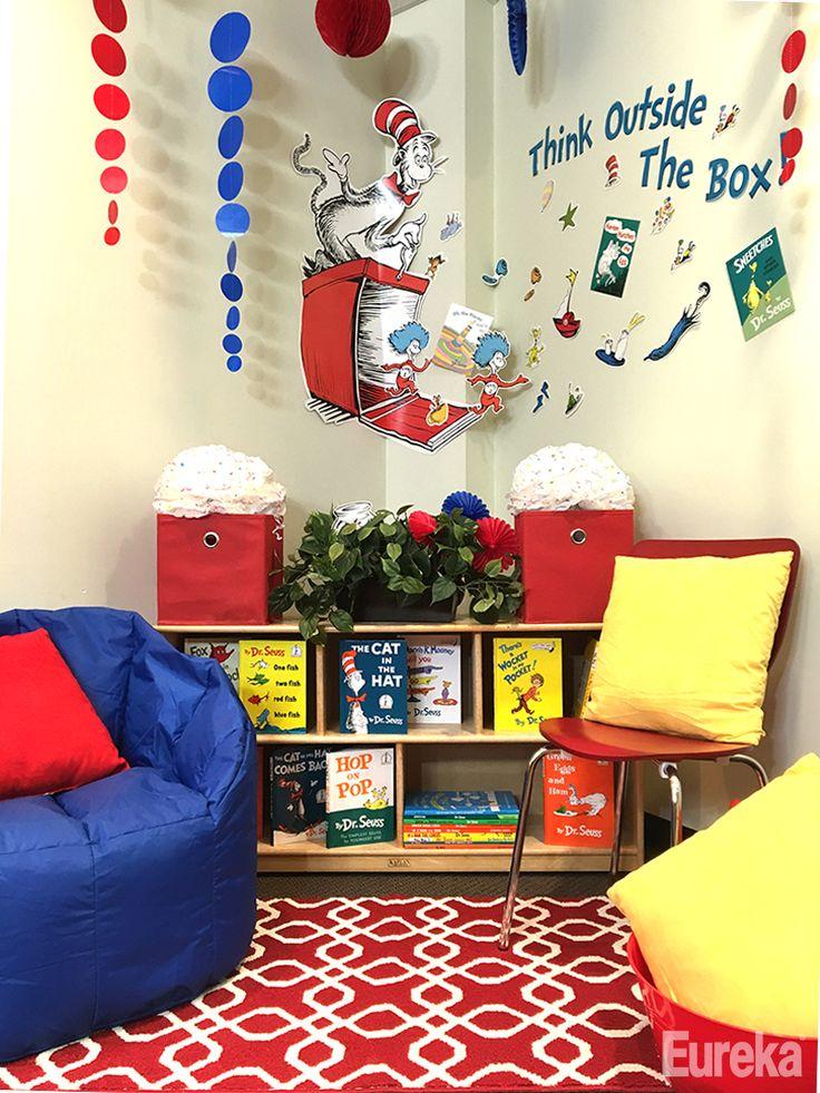 Classroom Decoration Dr Seuss : Best eureka dr seuss classroom theme images on