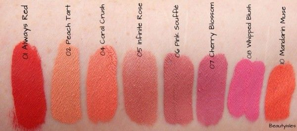 Swatches Sephora Lip Cream Stains | For Luscious Lips ...