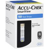 Best price on test strips at Diabetes Supplies! njoy the advanced accuracy with the Accu-Chek SmartView test strips, as tested against a 23% tighter specification.