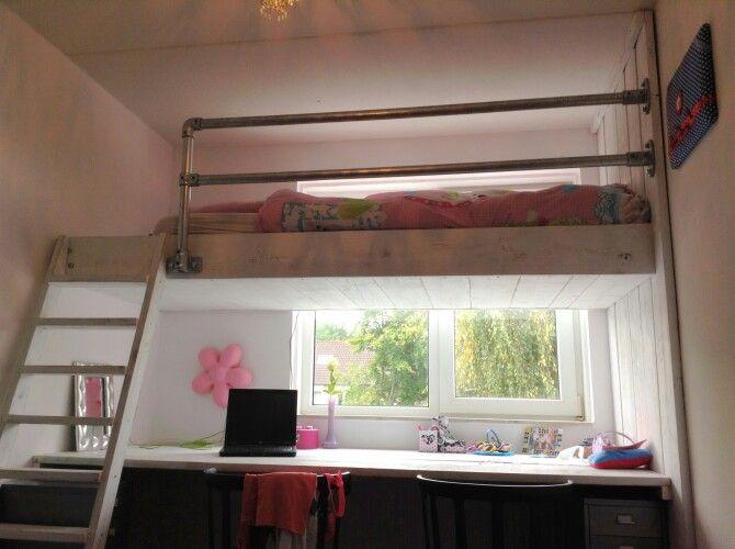 Vide jongens slaapkamer siem pinterest - Bed kamer mezzanine ...