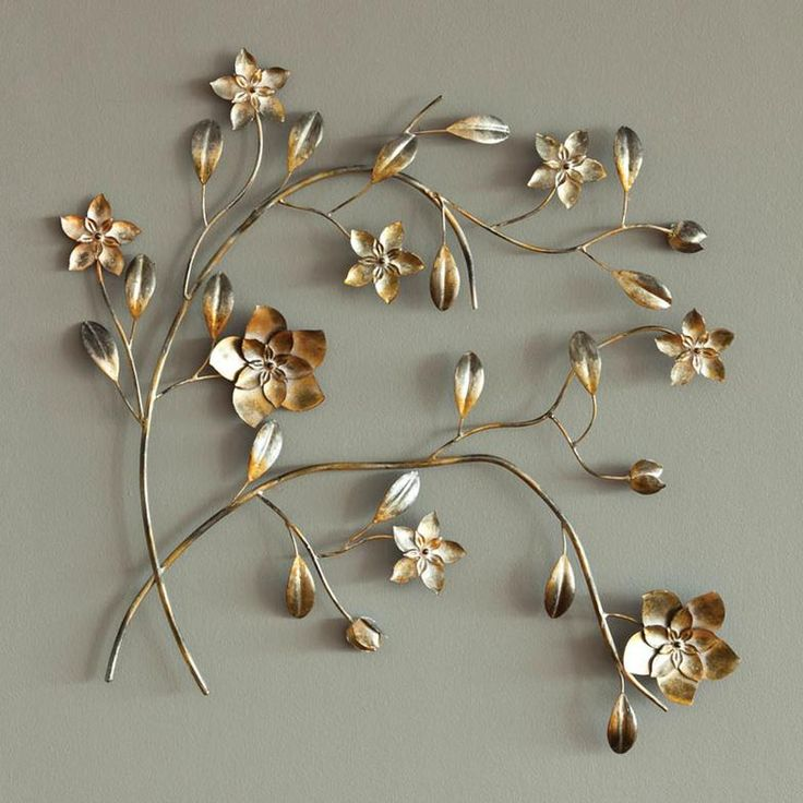 Joy Metal Wall Decor : Best images about metal flowers on