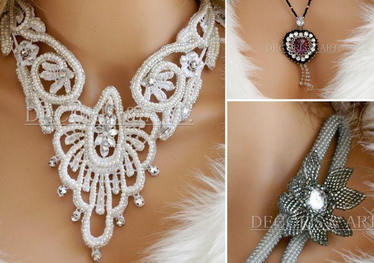 Biżuteria artystyczna przygotowywana na zamówienie.