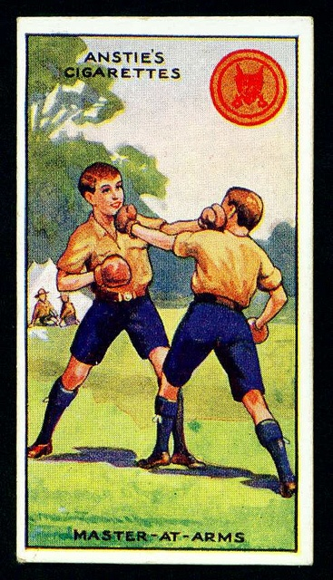 Cigarette Card - Scout Series #22 by cigcardpix, via Flickr