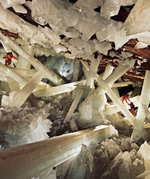Mexico's Cave of Crystals, National Geographic