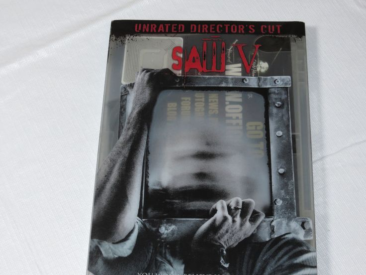 Saw V Unrated Director's Cut DVD 2008 WideScreen Twisted Pictures Movie