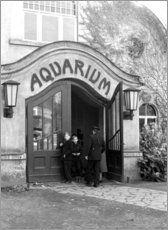 Aquarium im Leipziger Zoo 1959