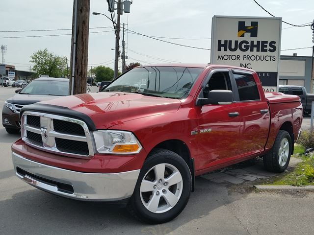 2009 Dodge Ram 1500 Pickup comes with: ABS, Cruise Control, Adjustable Steering Wheel, Four Wheel Drive, Key-less Entry, A/C, Cloth Seats, Traction Control, Power Mirror(s), MP3 Player and much more. All trade-ins welcome. Hughes Motor Products 416-252-1100