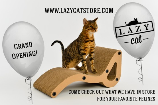COME CHECK OUT OUR PURRFECT FURNITURE @ WWW.LAZYCATSTORE.COM