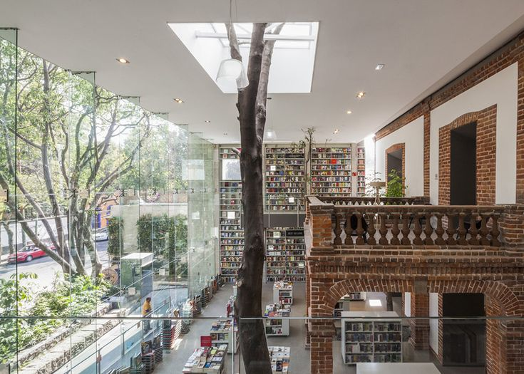 someday I will have a tree in my library. And it will be fabulous.