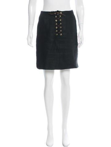 #The RealReal - #Oscar de la Renta Oscar de la Renta Linen Mini Skirt - AdoreWe.com