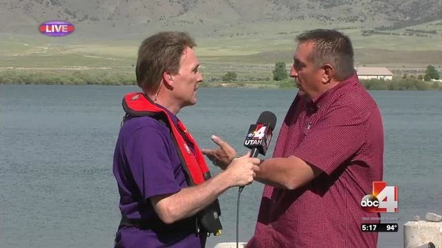 PIUTE COUNTY, Utah (ABC4 Utah) The 2016 Good4Utah is off to a great start. The crew rolled into Otter Creek State Park Thursday.