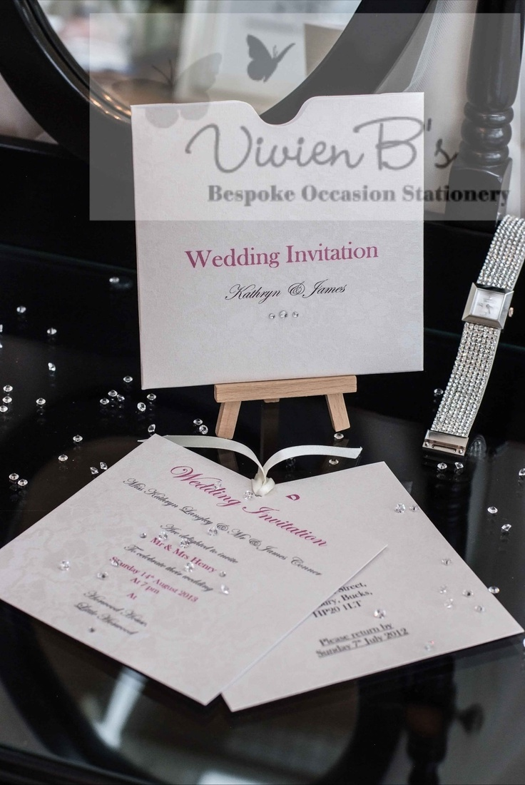 The Audrey wedding stationery collection. More wedding invitations and wedding stationery designs are also available from VivienB's in thame, oxford, oxfordshire, and are available throughout the United Kingdom, UK, USA, Europe, and worldwide. We would love to hear from you via our website www.vivienbs.com