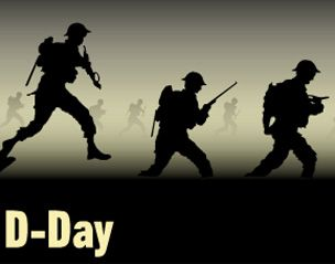 d day landings animation