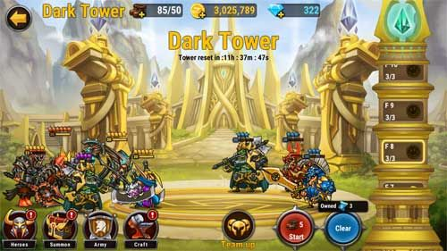 Download Game God of Era: Epic Heroes War (GoE) Apk + Mod for Android From Gretongan in Action Category