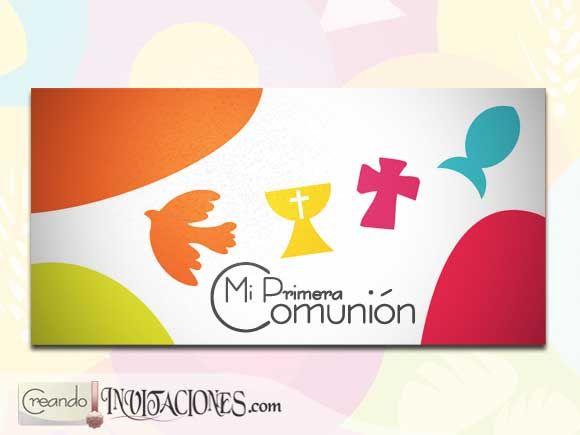 Invitaciones de Comunión