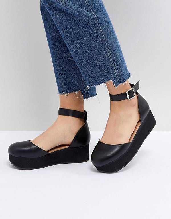ad46b36beb7 ASOS TABBI Flatform Shoes | shoes in 2019 | Shoes, Womens boots on ...