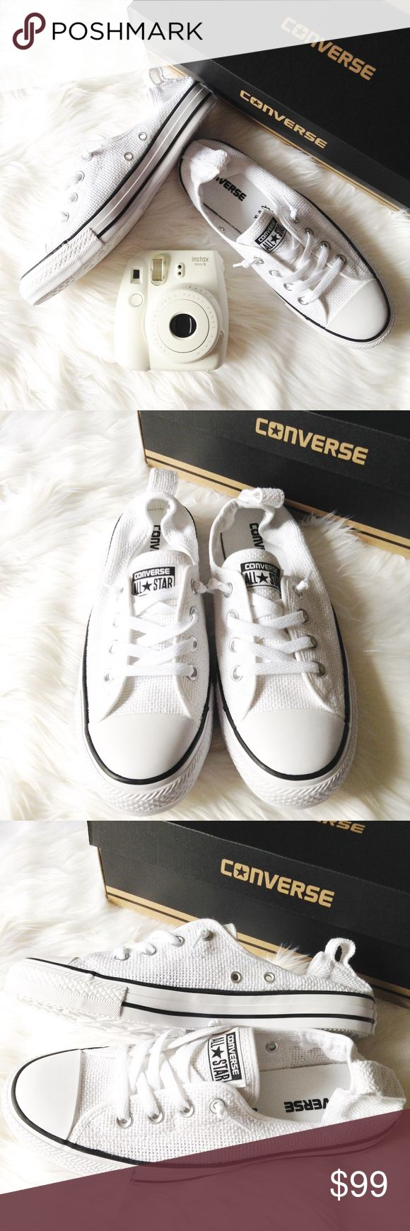 Converse slip ons Brand new, never used. Comes with its original box. Made in Vietnam. Converse Shoes