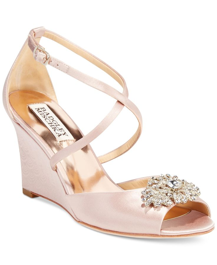 Best 25 Wedge Wedding Shoes Ideas On Pinterest