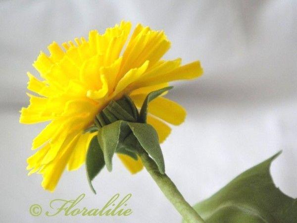How to Make Gumpaste Dandelion Flowers - Tutorial - Cake Central