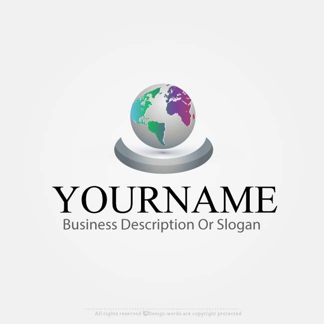 62 best images about amazing globe logo designs on pinterest for Draw your own logo free online